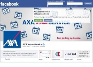 Axa Facebook